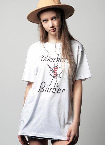 WORKER'S BARBER TEE