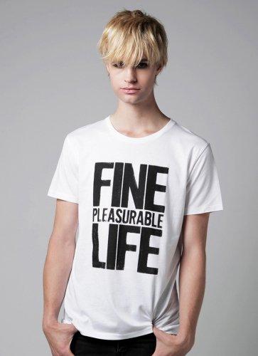 FINE LIFE  TEE