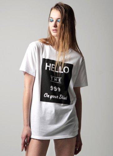 HELLO THE 999 TEE