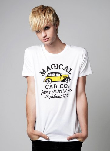 MAGICAL CAB CO.  TEE