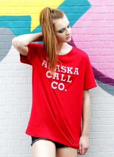ALASKA CALL CO.  TEE