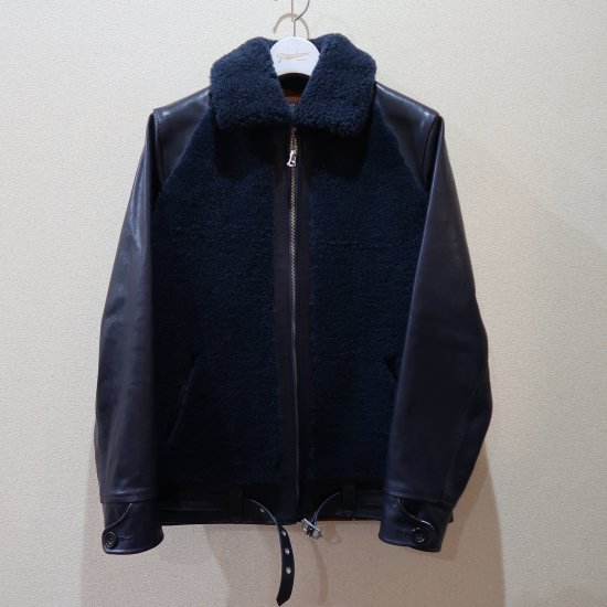 <img class='new_mark_img1' src='https://img.shop-pro.jp/img/new/icons16.gif' style='border:none;display:inline;margin:0px;padding:0px;width:auto;' />40%OFF→FINDERS KEEPERS GRIZZLYJACKET(グリズリージャケット) 熊ジャン ネイビー