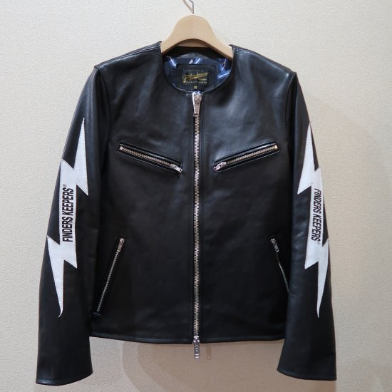 <img class='new_mark_img1' src='https://img.shop-pro.jp/img/new/icons16.gif' style='border:none;display:inline;margin:0px;padding:0px;width:auto;' />50%OFF→FINDERS KEEPERS RIDERSJACKET THUNDER サンダーライダースジャケット
