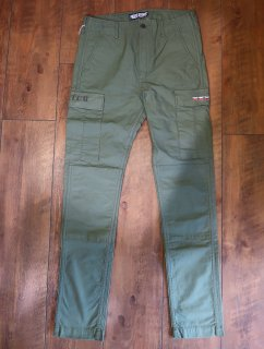FINDERS KEEPERS(ファインダース キーパース) FK-BDU TROUSERS/SKINNY -OLIVE DRAB- カーゴパンツ