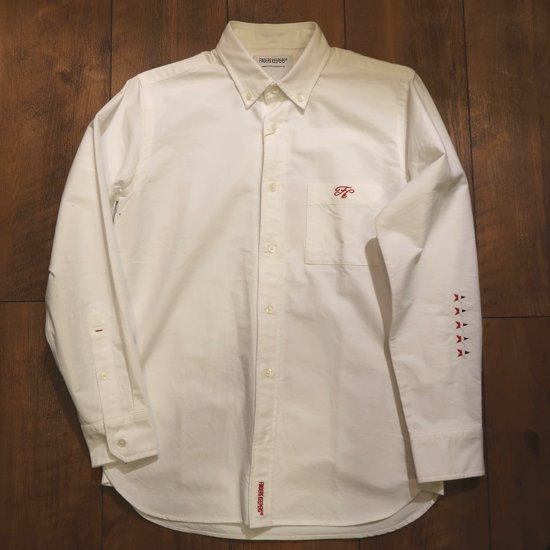 FINDERS KEEPERS(ファイダースキーパース)FK-B.D SHIRTS(WHITE)