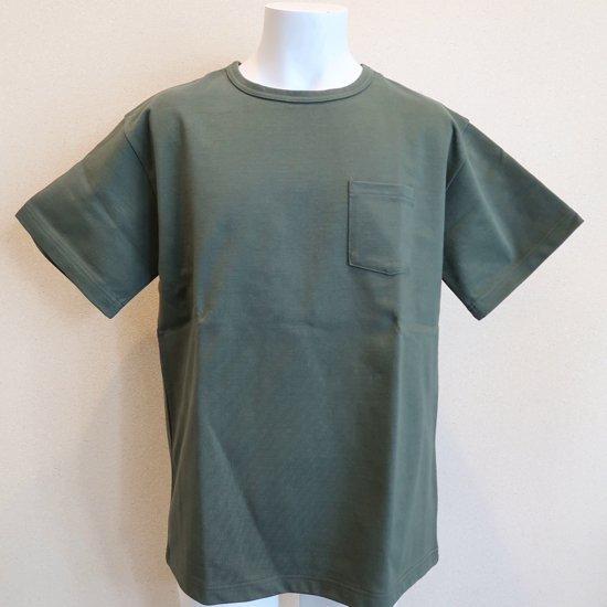 BONCOURA ヘビーウエイトポケットTシャツ オリーブ
