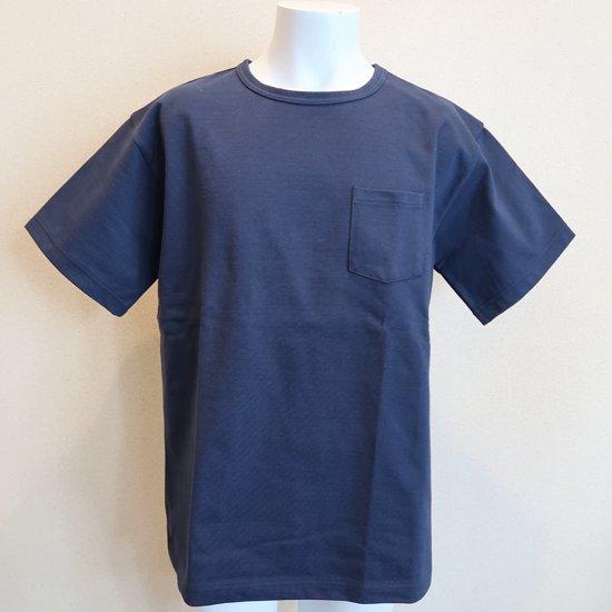 BONCOURA ヘビーウエイトポケットTシャツ ネイビー