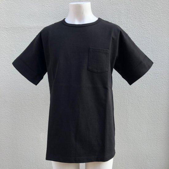 BONCOURA ヘビーウエイトポケットTシャツ ブラック