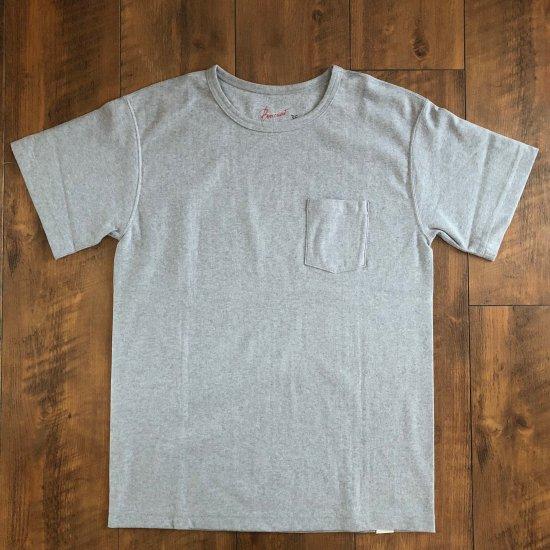 BONCOURA 丸胴ポケットTシャツ グレー
