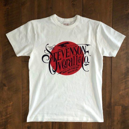 StevensonOverall&Co. 最後の1枚 graphic T-shirt rising sun Sサイズ