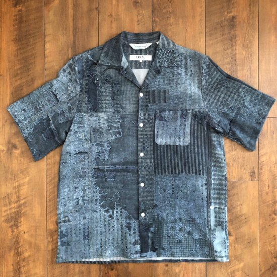 <img class='new_mark_img1' src='https://img.shop-pro.jp/img/new/icons16.gif' style='border:none;display:inline;margin:0px;padding:0px;width:auto;' /> FDMTL [NIPOALOHA] BORO ALOHA SHIRT