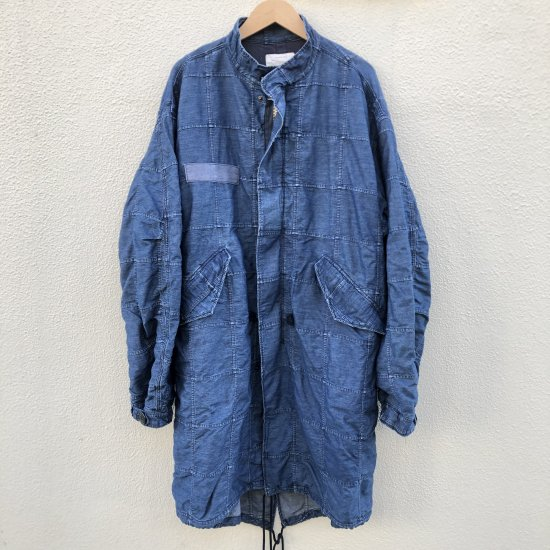<img class='new_mark_img1' src='https://img.shop-pro.jp/img/new/icons25.gif' style='border:none;display:inline;margin:0px;padding:0px;width:auto;' />Stevenson Overall Co. Overlander(FIELD JACKET) denim パッチワーク