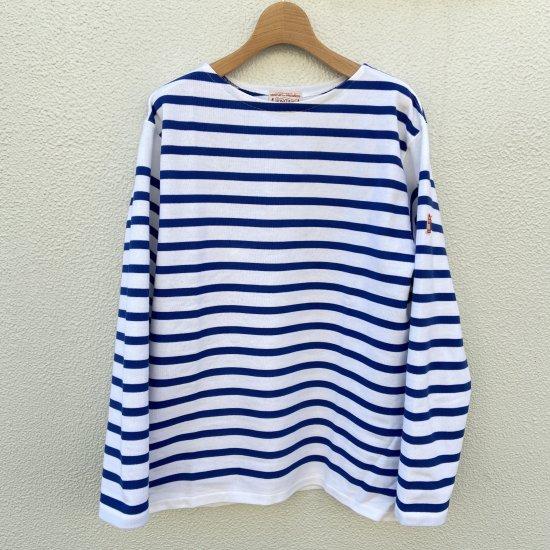 BONCOURA ブレトンシャツ Long Sleeve Raschel Knit