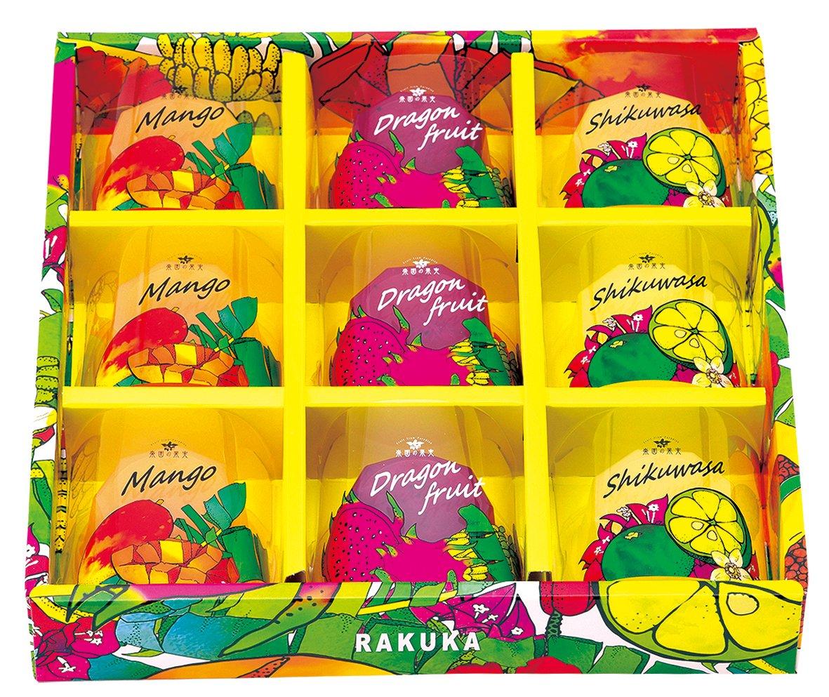 RUKUKA 楽園の果実ゼリー(9個)no:RAKS-J9