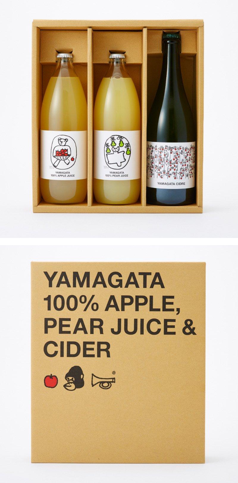 ジュース&シードルセット[箱入]