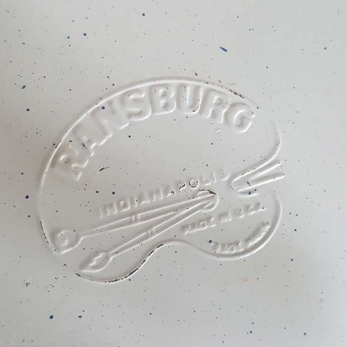 アメリカ・ブロカント・ホーロー・クッキー缶 サブイメージ