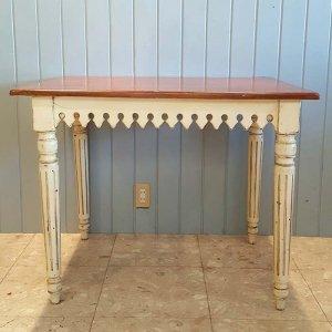 木製アンティーク風・ダイニングテーブル