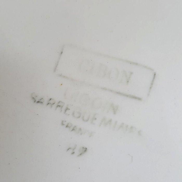 フランス・蚤の市・ブロカント・陶器・絵皿・花柄皿・薔薇柄 サブイメージ