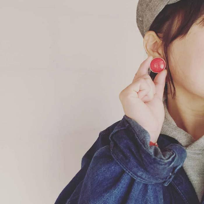 5個セット・同色ボタン・お買い得価格ボタン・大サイズ・イエロー サブイメージ