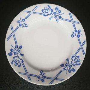 フランス・ブロカント・蚤の市・ORCHIES・青花柄・プレート