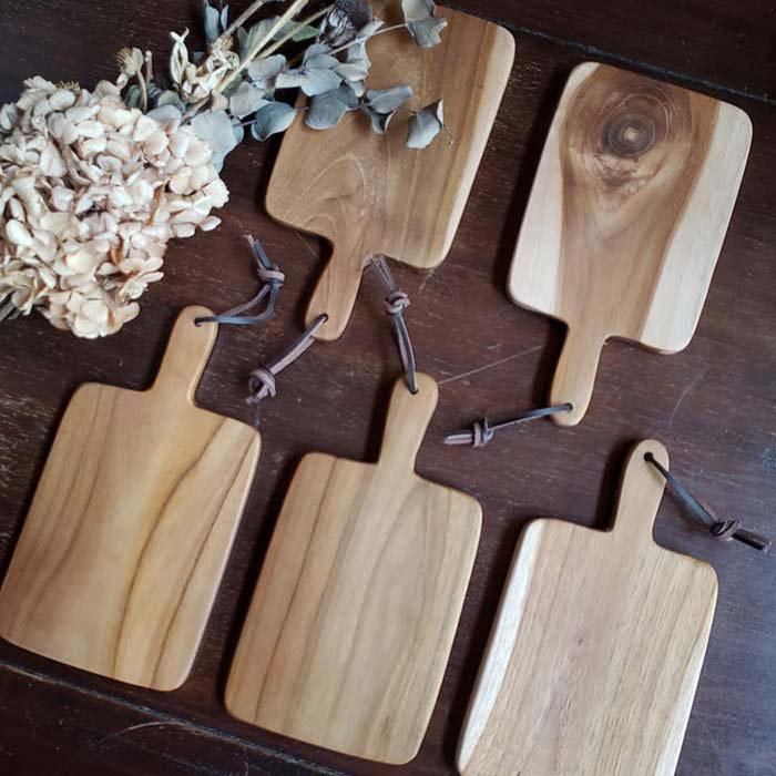 インドネシア・チーク・木製ボードmini メインイメージ