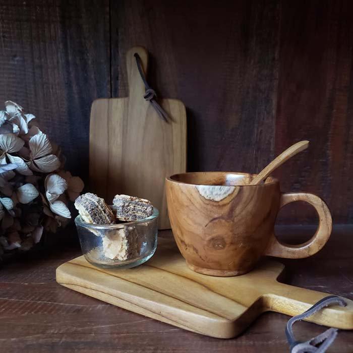 インドネシア・チーク・木製ボードmini サブイメージ