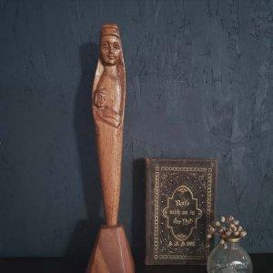 マリア像・オランダ・木彫り