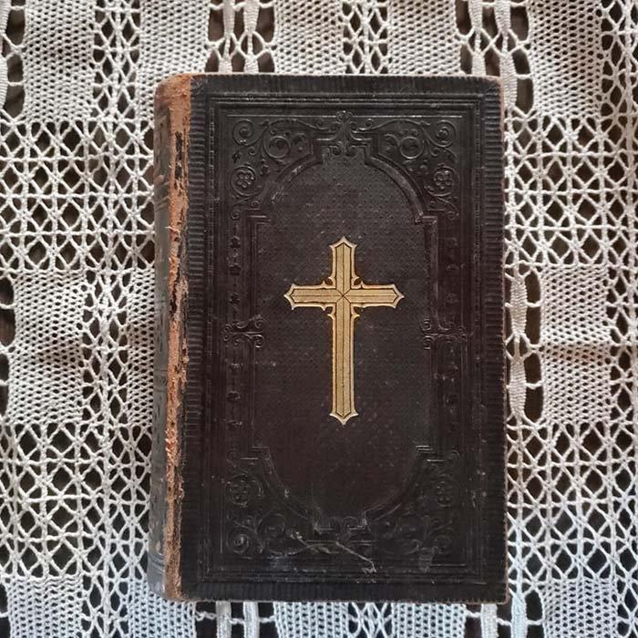聖書・ドイツ・蚤の市・アンティーク・1896年 メインイメージ