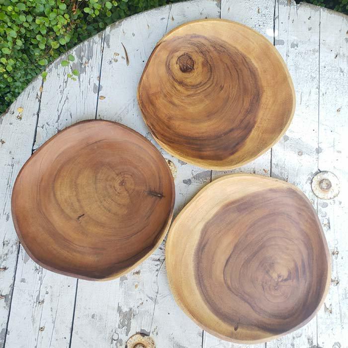 アカシアWOOD・プレート・木製皿(M) メインイメージ