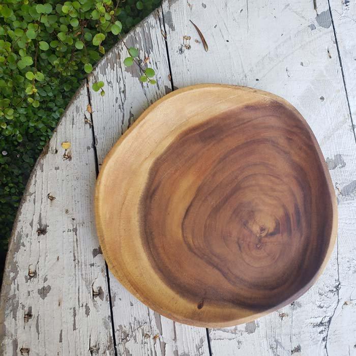 アカシアWOOD・プレート・木製皿(M) サブイメージ