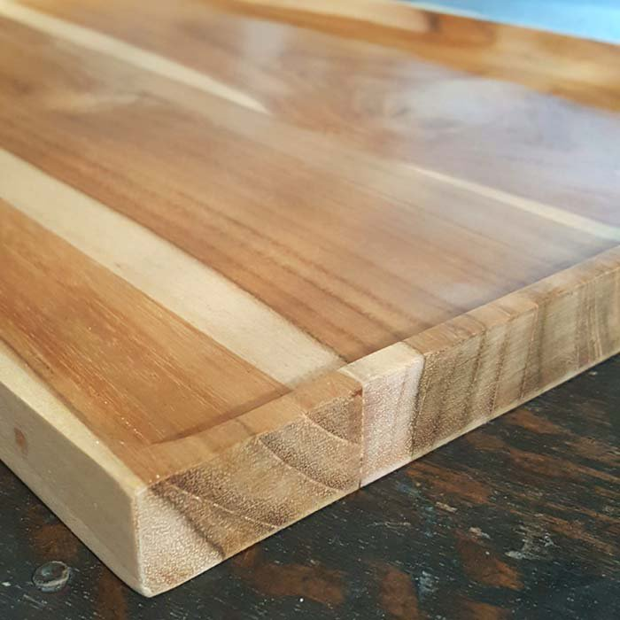 インドネシア・チーク・WOOD・木製トレー サブイメージ