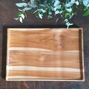 インドネシア・チーク・WOOD・木製トレー