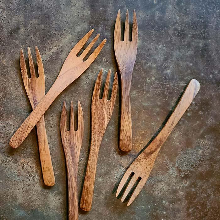 木製スプーン・木製フォーク・ナチュラル・ウッドスプーン・ウッドフォーク サブイメージ
