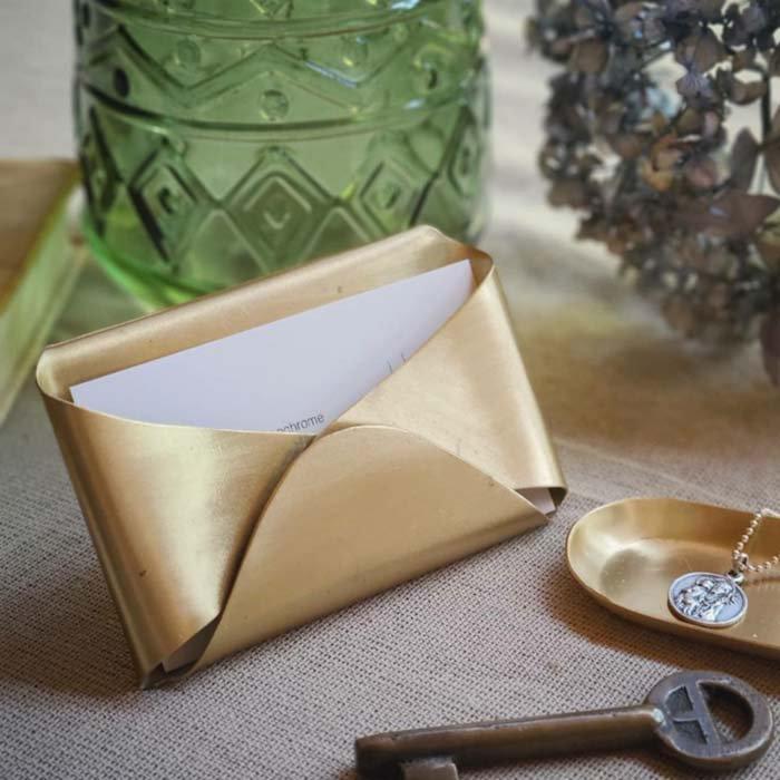 真鍮・ブラス・名刺スタンド・カードスタンド メインイメージ