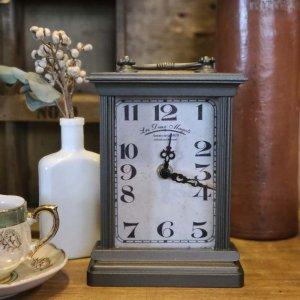 アンティーク調・置き時計・スクエアクロック