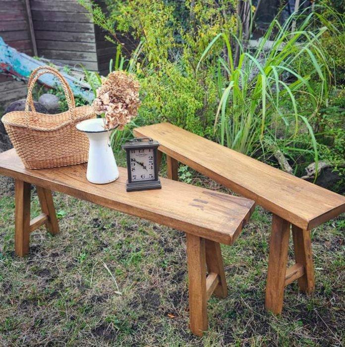 リサイクルウッド・ロングベンチ・ウッドベンチ・木製家具 サブイメージ