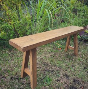 リサイクルウッド・ロングベンチ・ウッドベンチ・木製家具