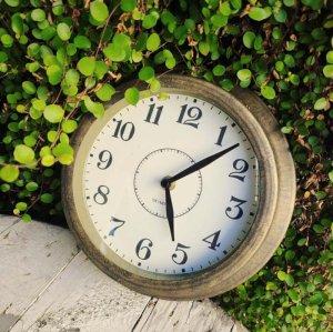 ブラス風・アンティーク調・ウォールクロック・壁掛け時計