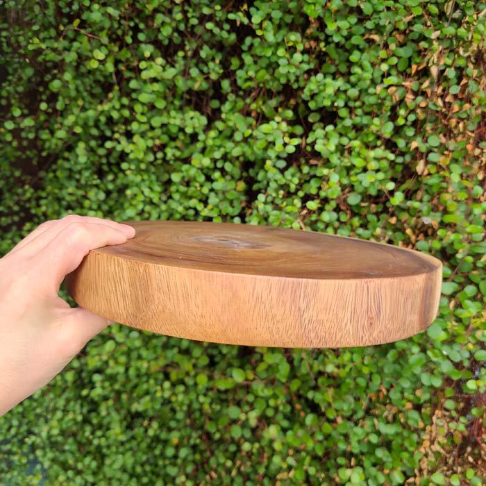 木製・チョッピングボード・カッティングボード・丸プレート(Mサイズ) サブイメージ
