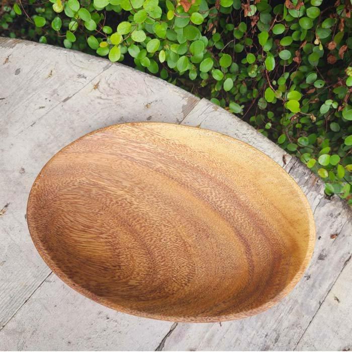 木製・オーバルプレート(S)・ウッドトレイ サブイメージ