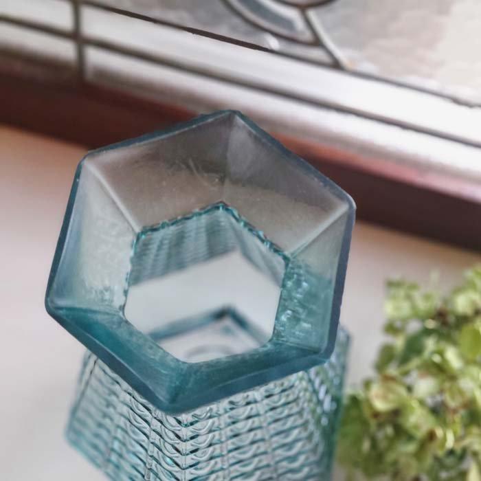 アクア・フラワーベース・ドット・ガラスベース サブイメージ