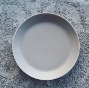 マットグレー・ケーキ皿・デザートプレート・シンプルプレート