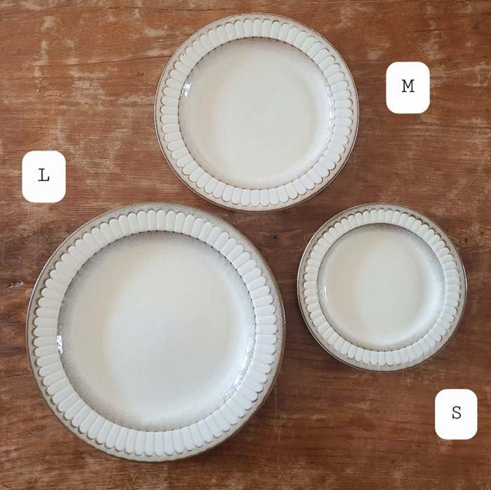 デイジープレート(M)・7.5インチケーキプレート・カフェプレート・取り分け皿 サブイメージ