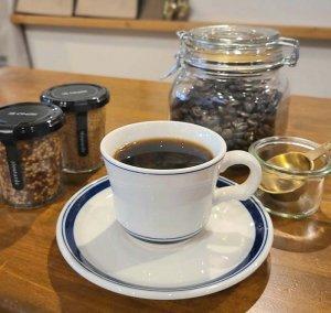 ブルーラインカップ&ソーサー・カフェ・珈琲・紅茶・モーニング