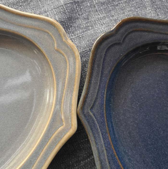フレアオーバル・プレート(M)・器・レトロカラー2色 サブイメージ