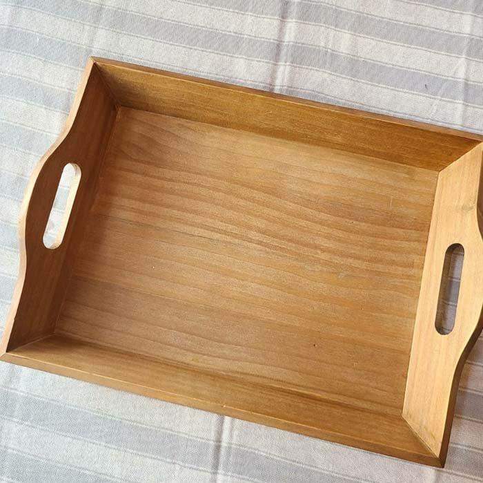 オールドウッドトレイ・木製トレイ・ナチュラル サブイメージ