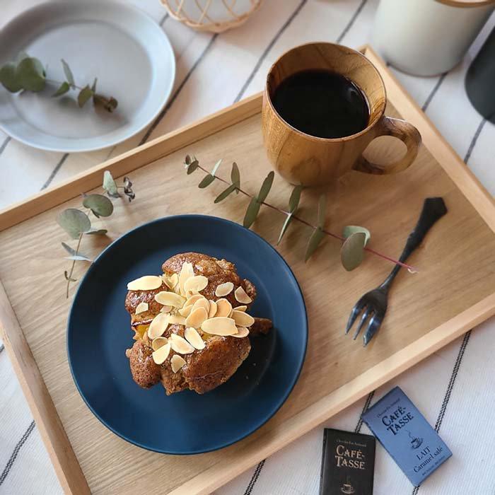マットネイビー・ケーキ皿・デザートプレート・シンプルプレート サブイメージ