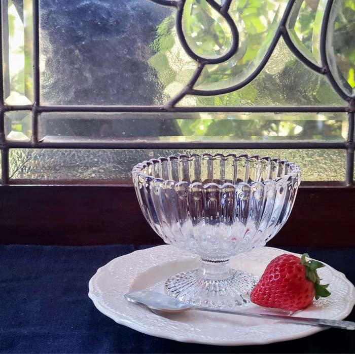 ガラスカップ・ドットフリルカップ・デザートグラス サブイメージ