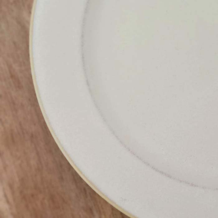 クリーム&レトログレープレート・20cmプレート・おうちカフェ・シンプル サブイメージ
