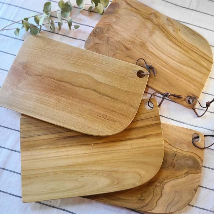 インドネシア・チーク・木製ウッド・カッティングボード・プレート メインイメージ
